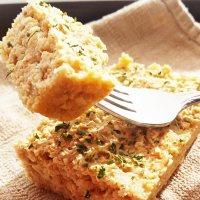 Mini Garlic Oat Loaf