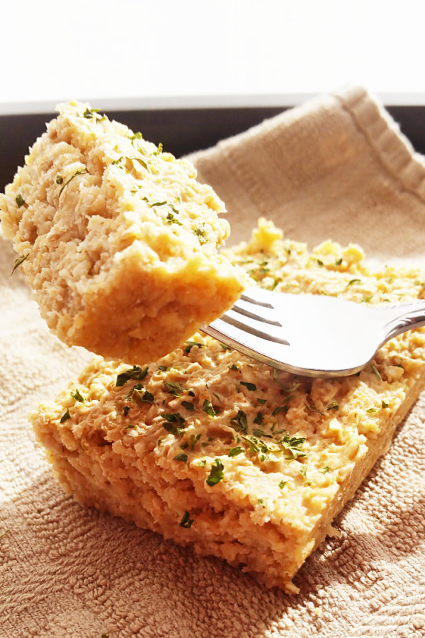 garlic-bread-baked-oatmeal-1