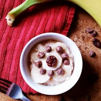 Banana Split Oatmeal