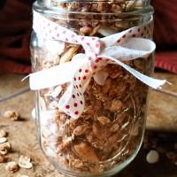 Cinnamon Bun Granola