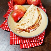 Apple Pie Quesadilla